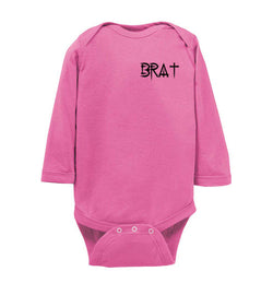 BRAT™ Long-Sleeve Infant Onesie