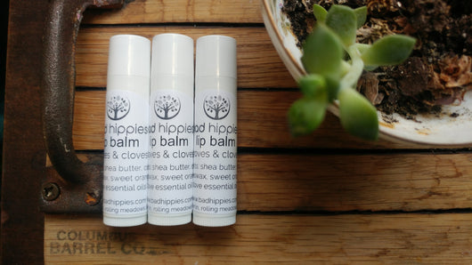groves & cloves lip balm - Bad Hippies