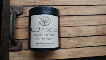 coffee cake candle - Bad Hippies