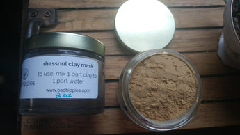 rhassoul clay face mask - Bad Hippies