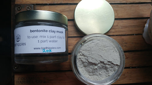 bentonite clay face mask