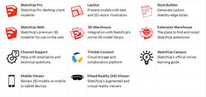SketchUp Pro Bundle Upgrade from Student Licence