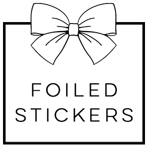 Foiled Stickers