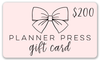 Planner Press Gift Cards - Planner Press