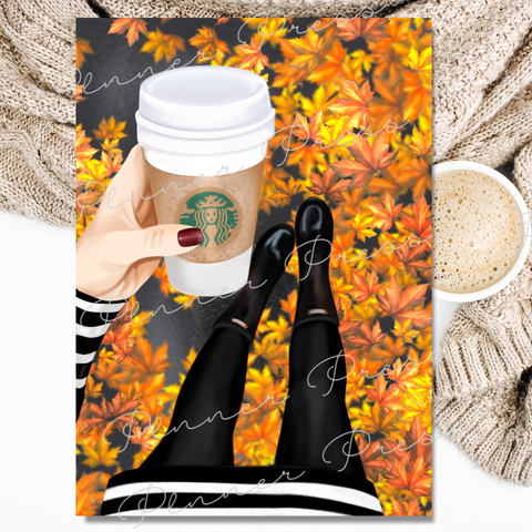 Coffee And Leaves - Digital Dashbox - November 2018 Digital Download