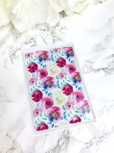 Floral Splash DashStash Sticker for Adhesive Vinyl Pockets  For TN's and Midori Travelers Notebook & Ringbound Planners - Planner Press
