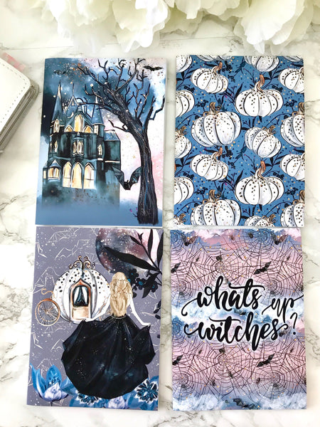 VELLUM Midnight Melodies Planner Dashboards For TN's and Midori Travelers Notebook V189 - Planner Press