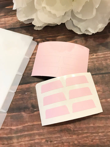 Blush Pink Divider Background Tabs Modular System - Planner Press