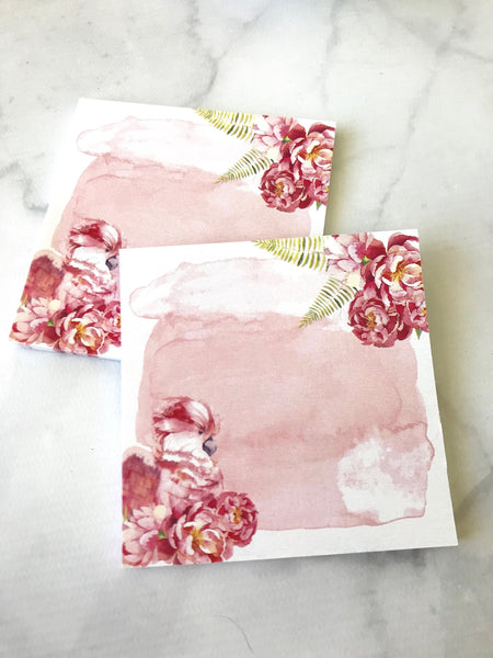 Pink Watercolor Post-it Notes from the DashBox Subscription - Planner Press
