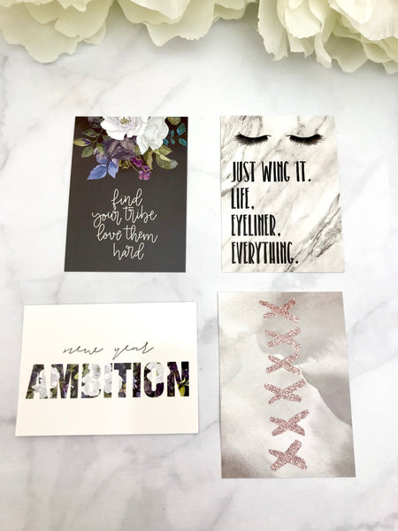 Ambition Quote Cards from the DashBox Subscription - Planner Press