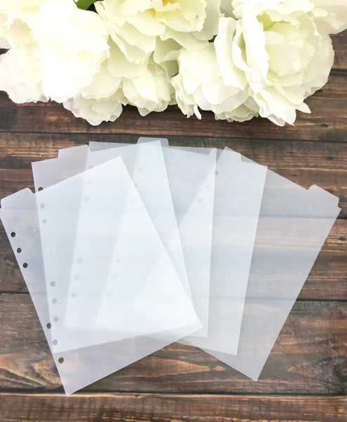 Top Tab A5 Ringbound Divider Tabs Modular System - Planner Press