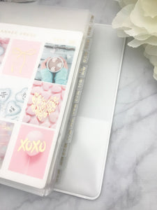 Mini Binder Sticker Organizer Dividers Sets - Planner Press