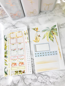 Beach Girl Hobonichi Weeks Sticker Kit with Gold Foil 2297 - Planner Press