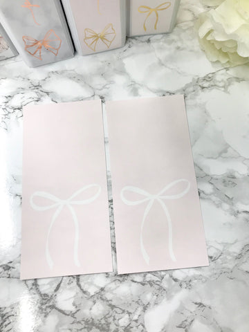 Pink with White Bow Hobonichi Weeks Full Page 2318 - Planner Press