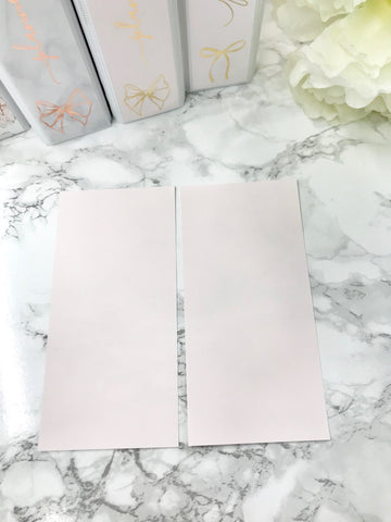 Blush Pink Soild Hobonichi Weeks Full Page 2317 - Planner Press