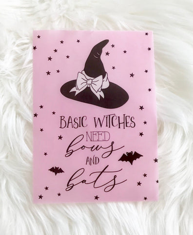 Basic Witches Planner Dashboards For TN's and Travelers Notebook Ringbound Planner V206 - Planner Press