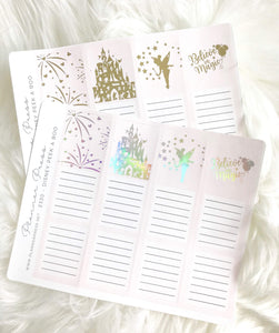 Magical Castle Foiled Peek A Boo Sticker For Planners 2330 - Planner Press