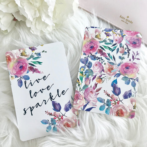 Live Love Sparkle Planner Card - Planner Press