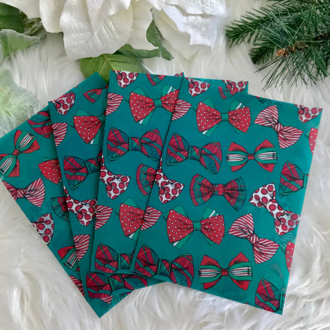 Christmas Bows Planner Dashboards For TN's and RIngbound Planners V215 - Planner Press
