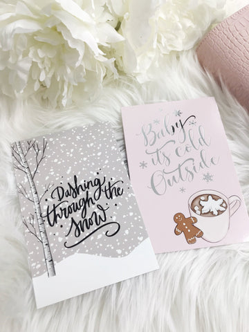 Winter Planner Card Set - Planner Press