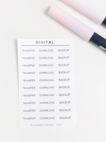 Digital Task Stickers 2371 - Planner Press