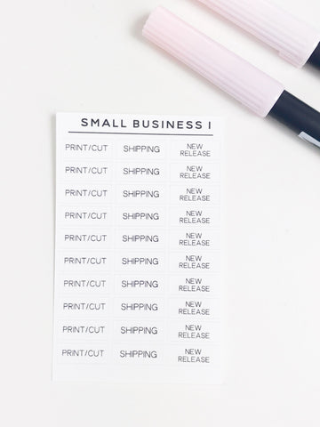 Small Business 1 Task Stickers 2372 - Planner Press
