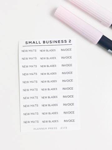 Small Business 2 Task Stickers 2373 - Planner Press
