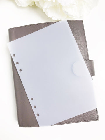 Divider FlyLeaf No Tab Plastic Dashboard - Planner Press
