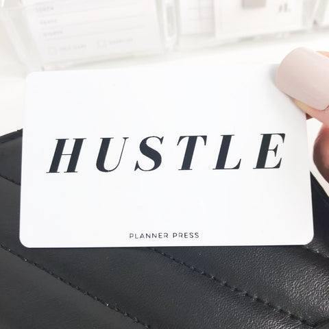 Hustle Pocket Card PC001 - Planner Press