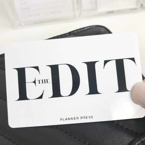 The Edit Pocket Card PC0026 - Planner Press