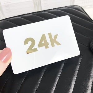 24k Gold Foil Pocket Card - Planner Press