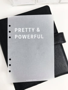 Pretty and Powerful Planner Dashboards For TN's and Travelers Notebook Ringbound Planner V309 - Planner Press