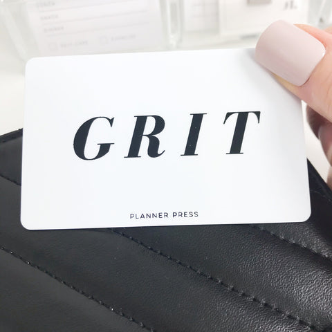 Grit Pocket Card PC002 - Planner Press