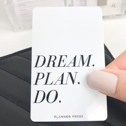 Dream Plan Do Pocket Card PC0010 - Planner Press