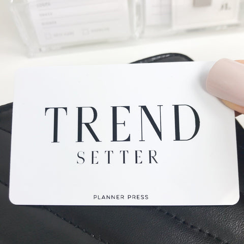 Trend Setter Pocket Card PC0011 - Planner Press
