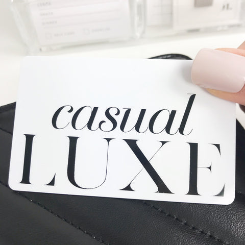 Casual Luxe Pocket Card PC0012 - Planner Press