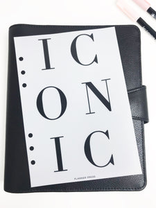 Iconic Planner Dashboards For TN's and Travelers Notebook Ringbound Planner V314-1 - Planner Press