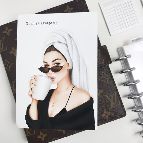 Turn Ya Savage Up Planner Dashboards For TN's and Travelers Notebook Ringbound Planner V350 - Planner Press