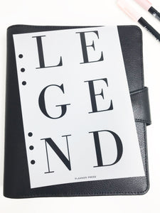 Legend Planner Dashboards For TN's and Travelers Notebook Ringbound Planner V321 - Planner Press