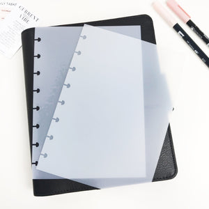 Frosted Cover For Half Letter / Junior 8 Disc Discbound Planner - Planner Press