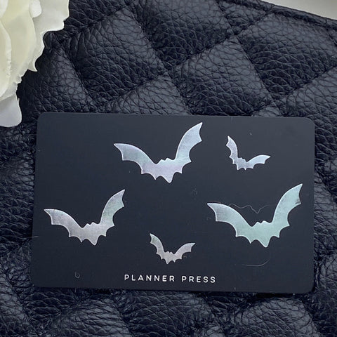 Bats Pocket Card Halloween