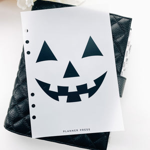 Hey Pumpkin Planner Dashboards For TN's and Travelers Notebook Ringbound Planner V365