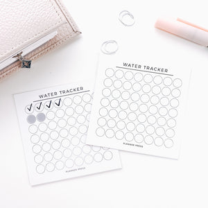 Water Tracker 3x3 Card System