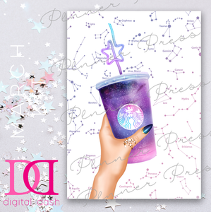 Galaxy Drink Dashboard - Digital Dashbox - March 2019 Digital Download