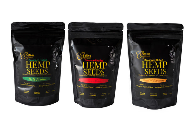 Seasoned Hemp Hearts
