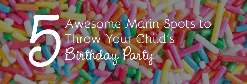5 Awesome Marin Spots to Throw Your Child's Birthday Party
