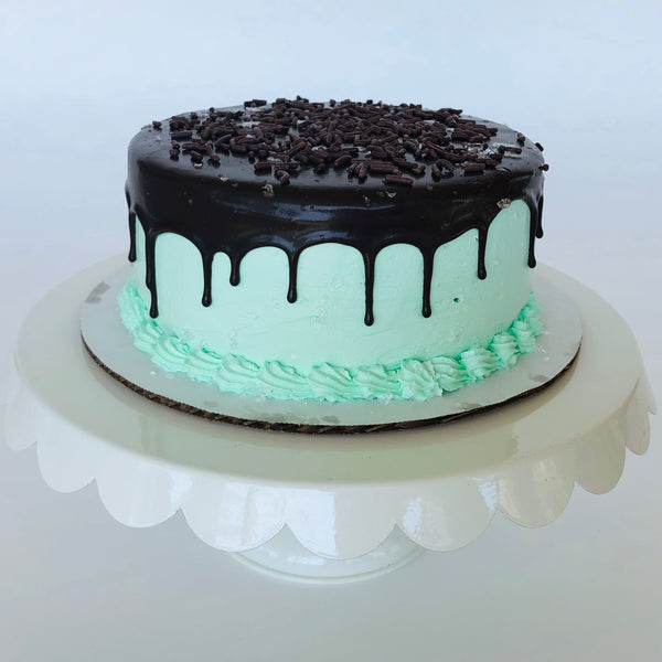 Mint Chip Mini-Cake with Chocolate Ganache