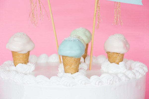 Mini Ice Cream Cone Cake