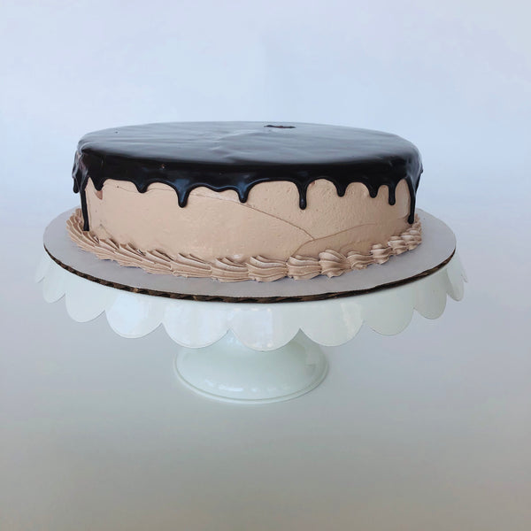 Single Layer Chocolate Ice Cream Cake