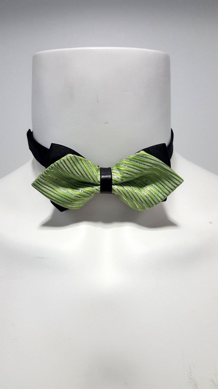 Electric Green Bow Tie
